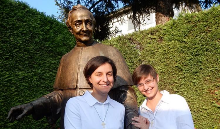 entrata in noviziato Silvia e Valentina