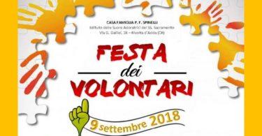 Festa dei volontari 2018