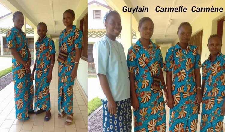 entrata in noviziato in Africa