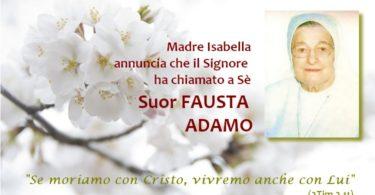 Suor Fausta Adamo