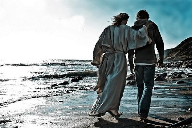 pregare con la vista