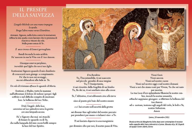 Preghiera: Il presepe della salvezza