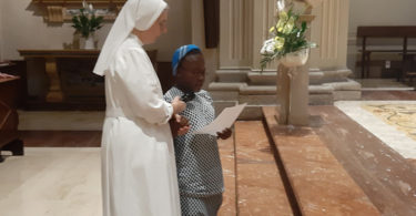 rinnovazioni voti suor Esther