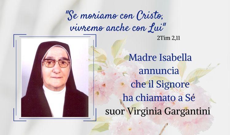 Suor Virginia Gargantini